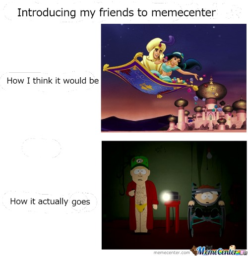 Introducing My Friends To Memecenter...