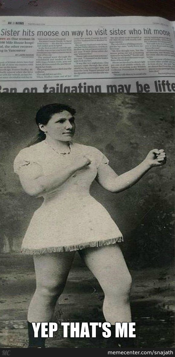 Introducing Overly Manly Woman