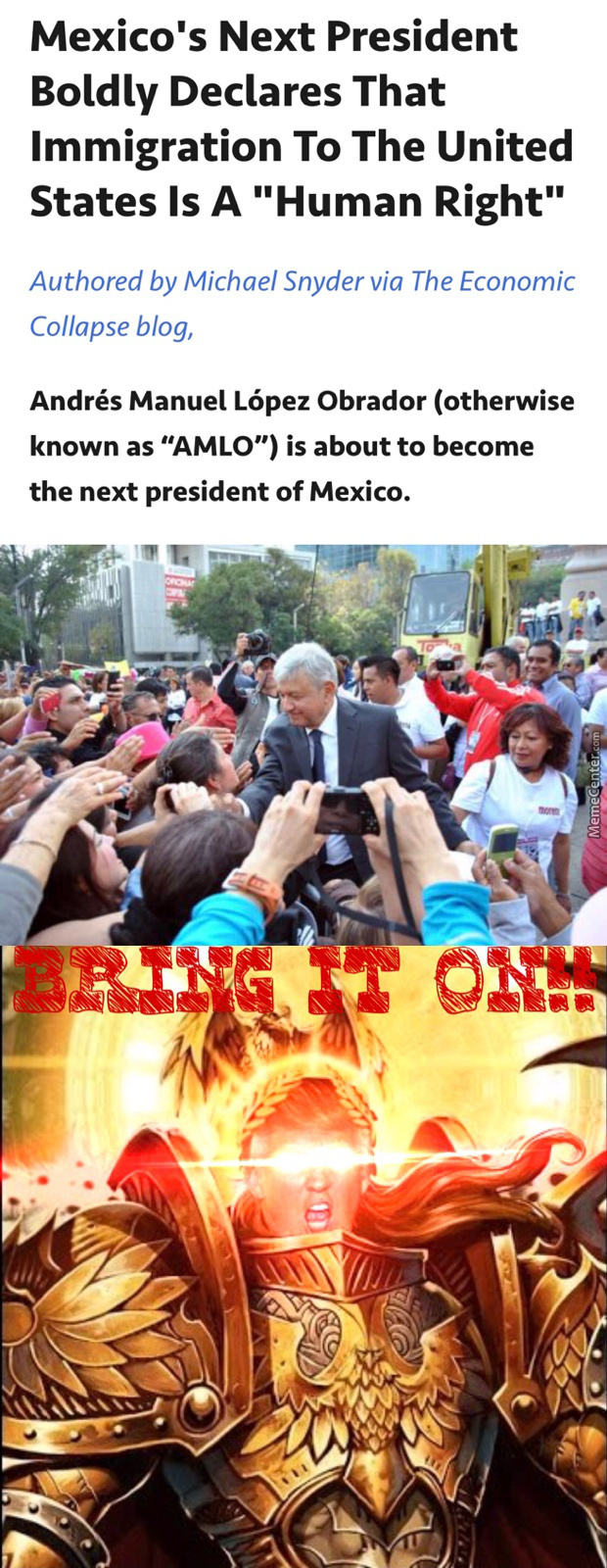 Invading Mexico Is The Humane Thing To Do!