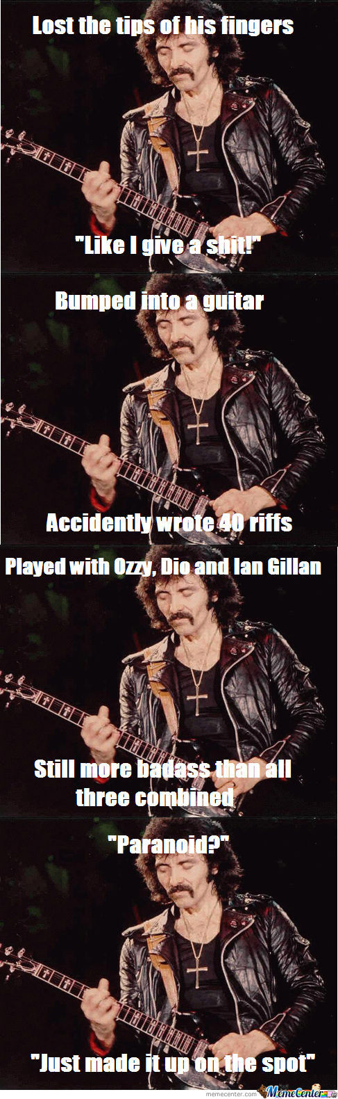 Iommi Like A Boss