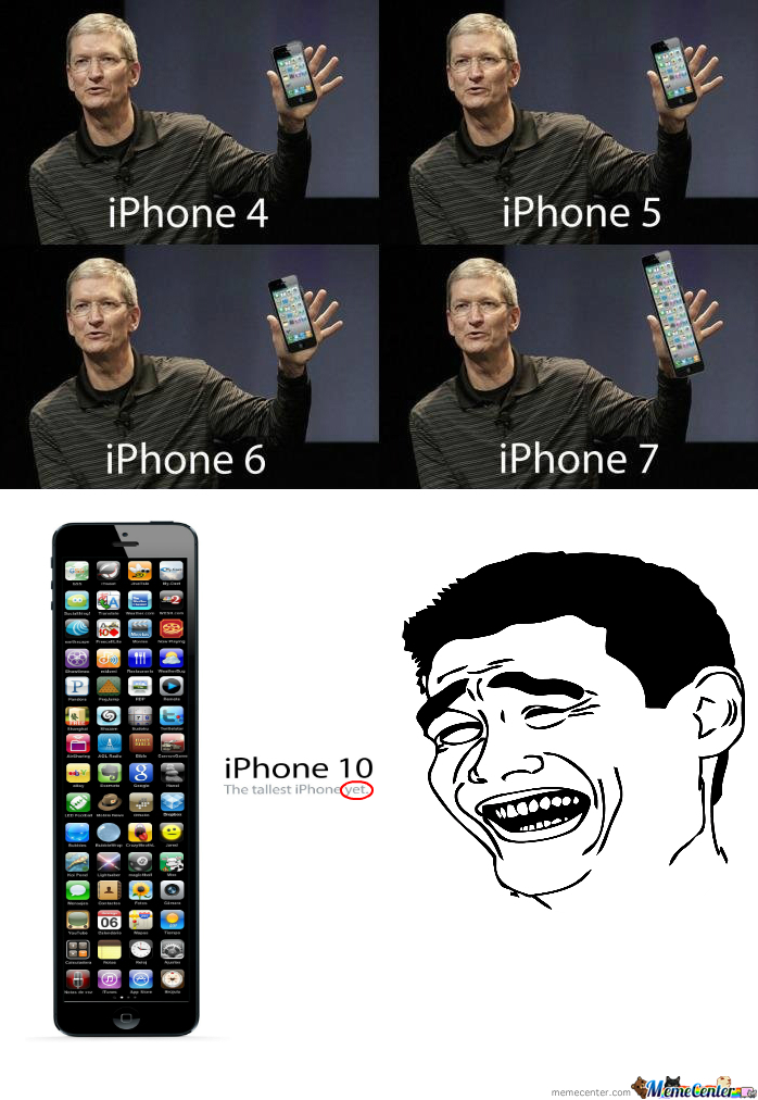 Iphone 4,5,6,7...10 (As Far)