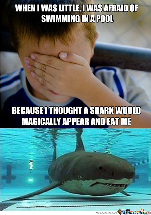 Irrational Fear Of Swimming In A Pool