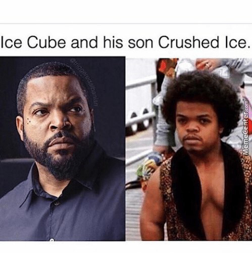 Is It 'ice Cube' Or 'ice-Cube'