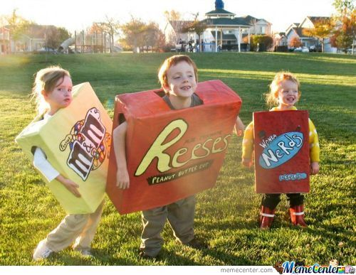 Is It Me Or...do These Kids Look High Of Candy?