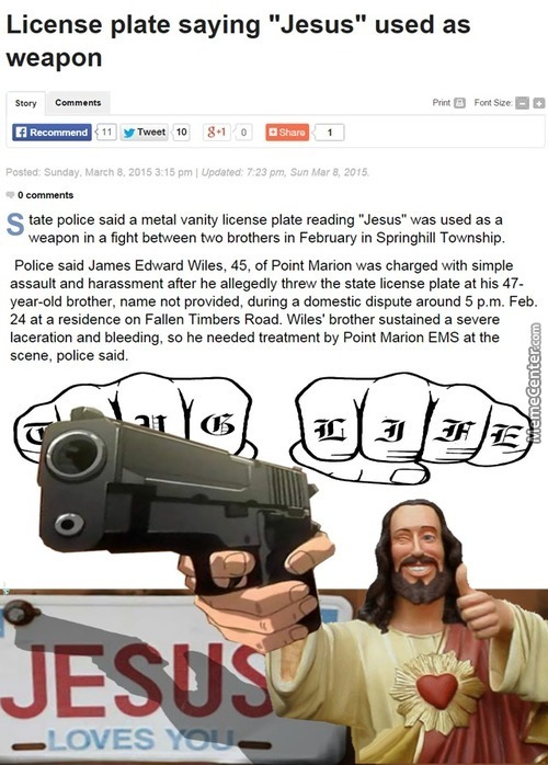 Is Religion A Weapon? ... I Lol'd!