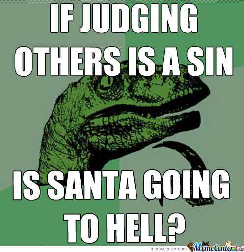 Is Santa Going To Hell?