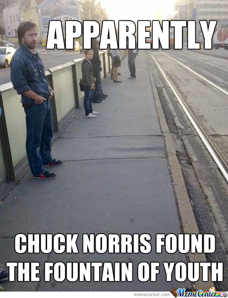 Is There Anything Chuck Cant Do????