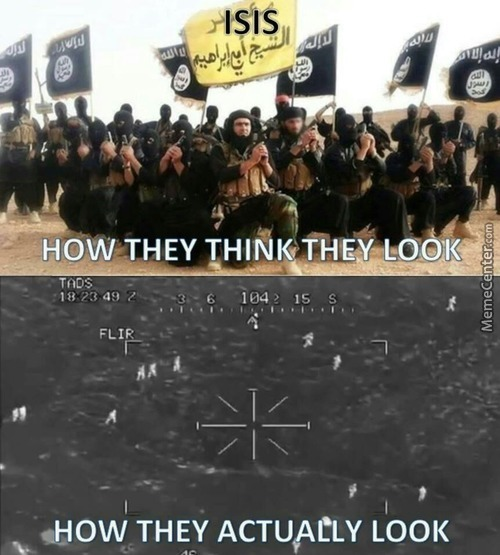 Isis...how They Think They Look