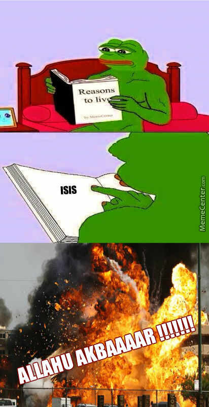 Isis Is The Reason