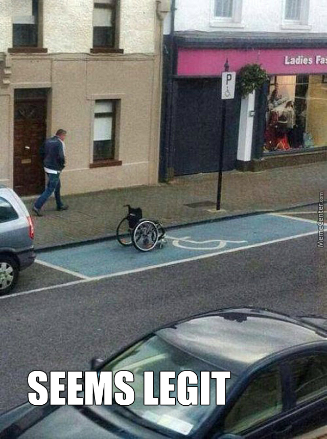 Isn't There A Picture Of A Wheelchair? So?