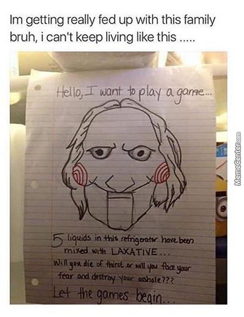 It's A Pain Living With Jigsaw