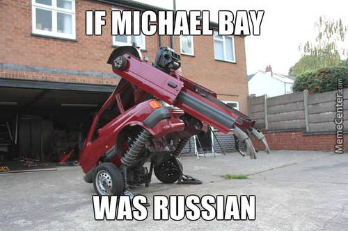 It's A Russian Robot....like Super Advanced Russian Robot