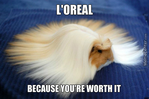 It's All Natural. Is It Because You Don't Have A Fabulous Hair.