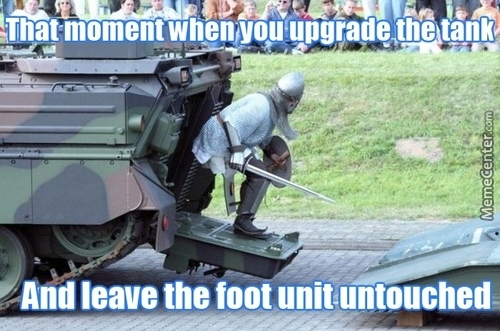 It's Gonna Take 1300 Years To Upgrade To The Tank's Level