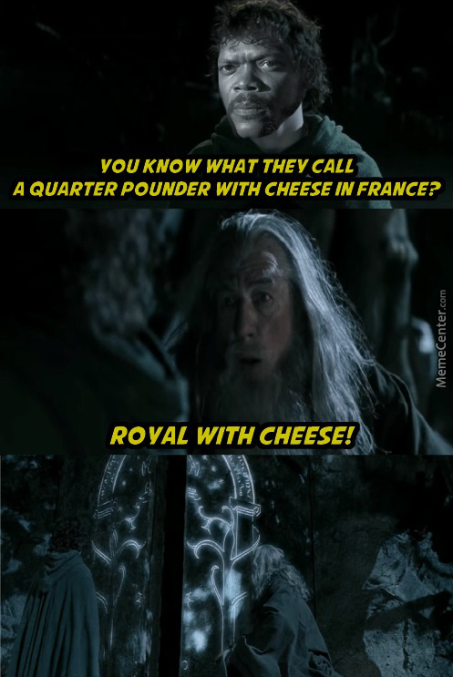 It's Just Royal Cheese Now Btw