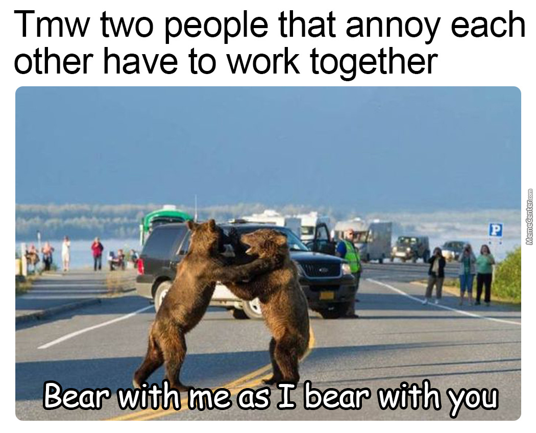 It's Not Fair Being A Bear