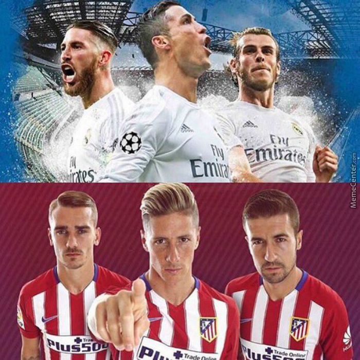 It's That Time Of The Year! The Spanish Rivals Meet, Real Madrid Vs Atlético Madrid. Who Will Be Crowned Uefa Champions?