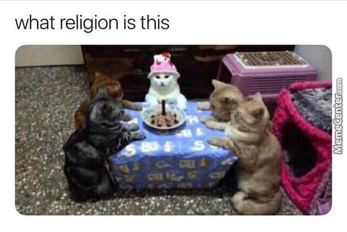 It's The Ultimate Religion
