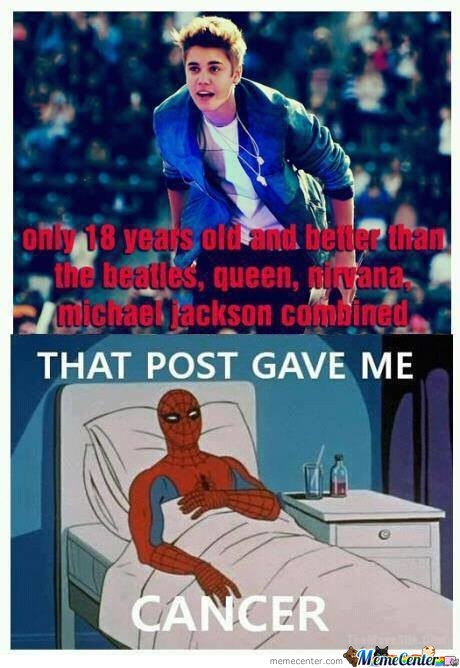 It Gave Spiderman Cancer
