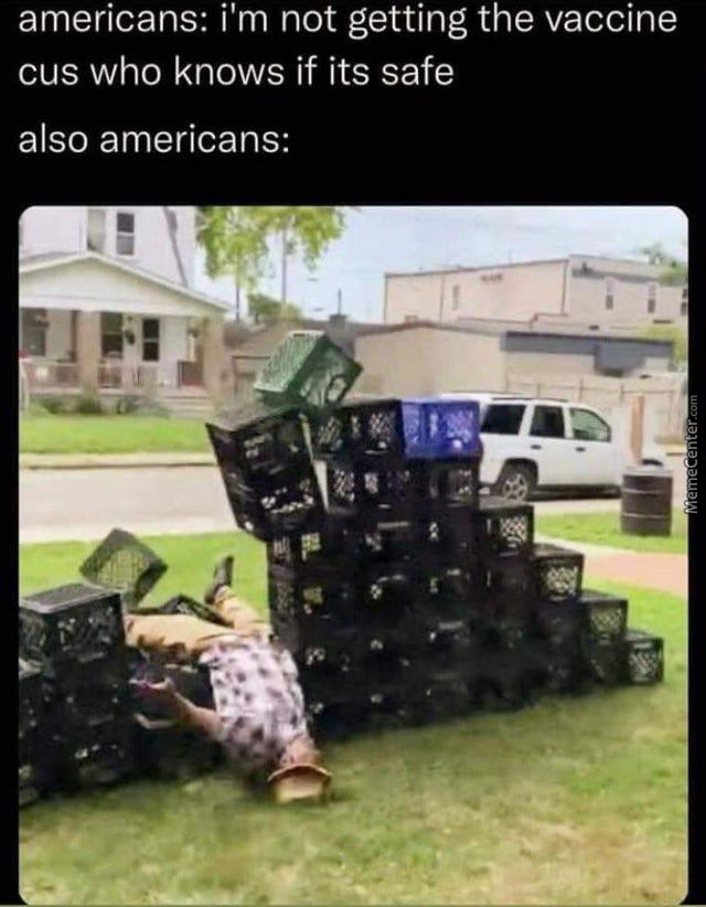 It Is What It Is And What It Is, Is Milk Crates
