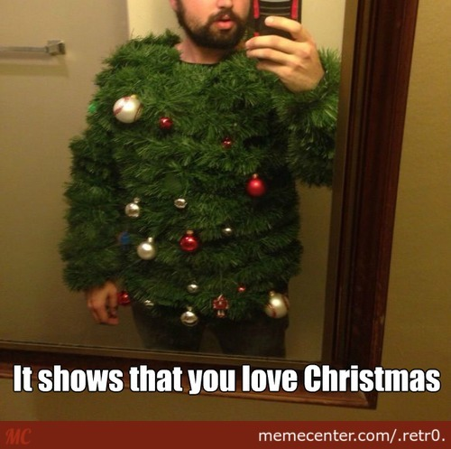 It Shows That You Love Christmas