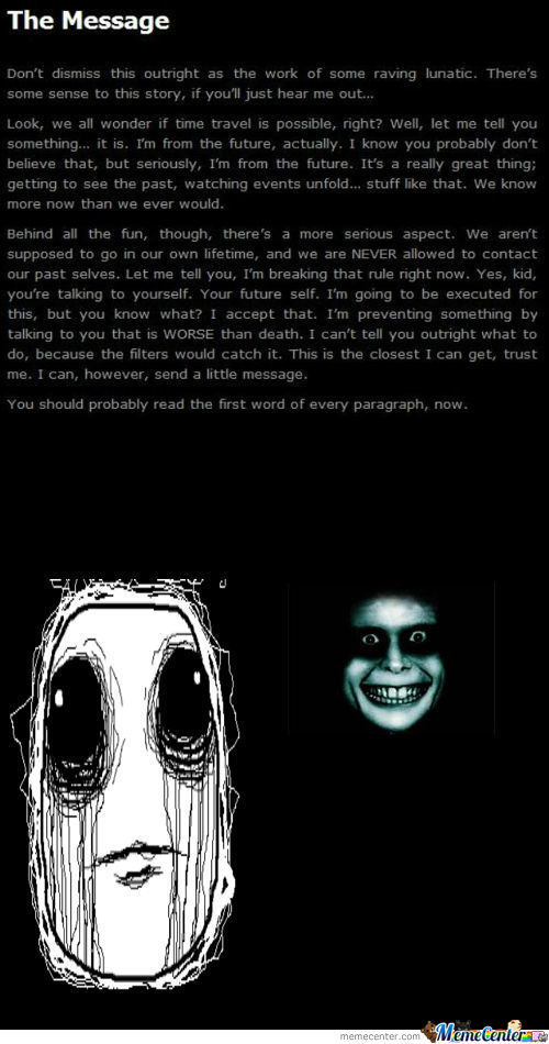 It Works Better If You Go To Creepypasta