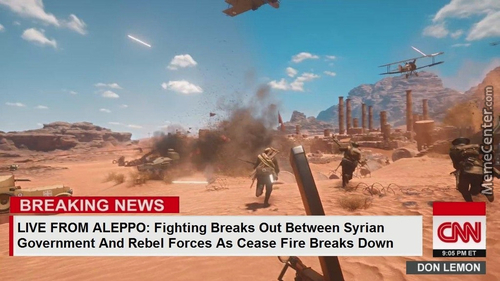 It Would Seem That Rebels Have Captured The Most Flags And Won The Day. Back To You, Blitzer