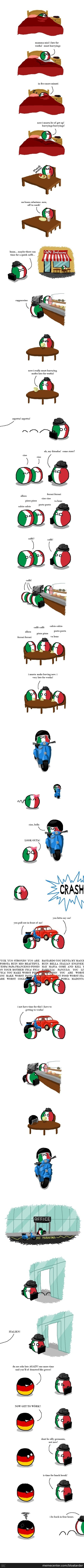 Italy Working
