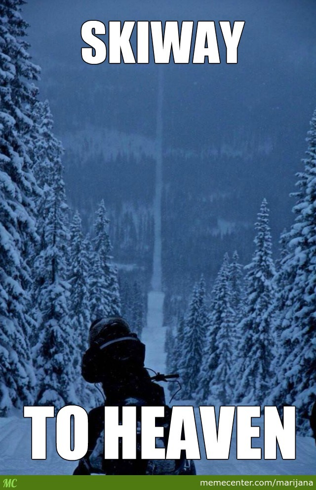 Its Actually The Border Of Norway And Sweden So Its Probably A Bit Illegal To Ski There