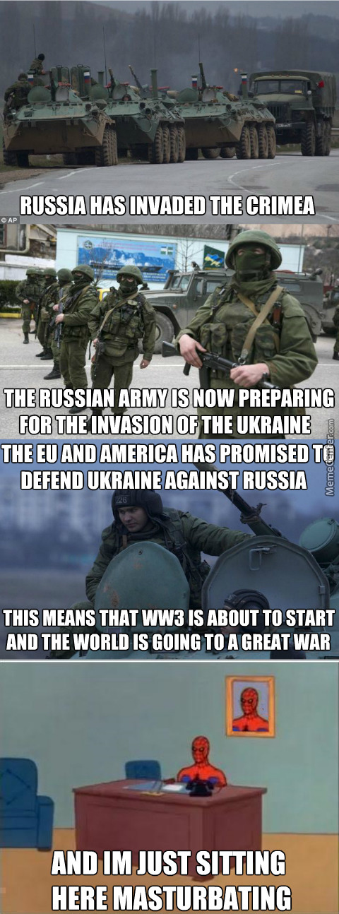 Its All About Profit And Power, But If The Russians Dare Come To My Land, I Will Not Let Them Take Over Without A Fight