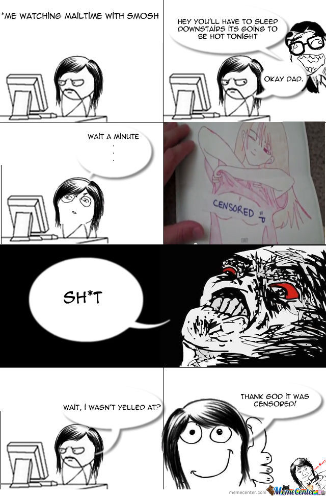 Its Been A Looooong Time Since I Made A Rage Comic, Hope You Enjoy!
