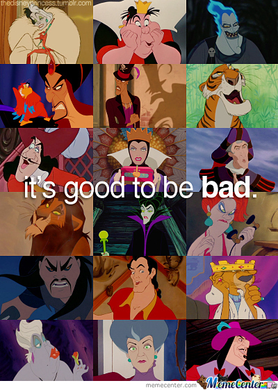 It's Good To Be Bad.