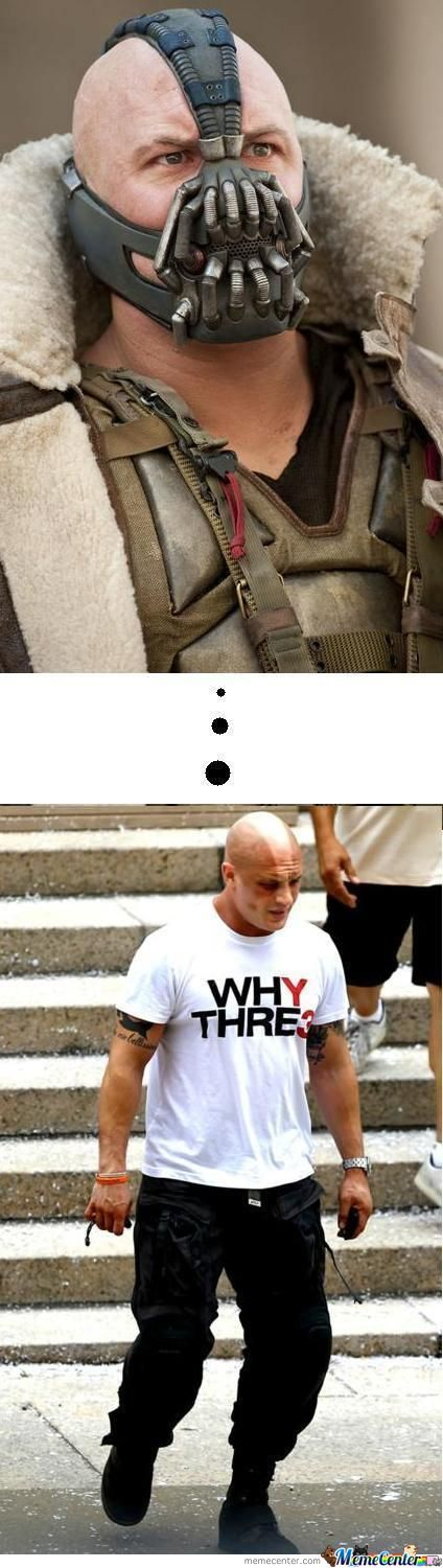 Its Hard To Be Bane