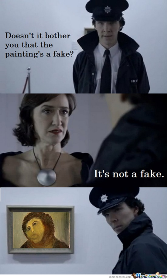 It's Not Fake