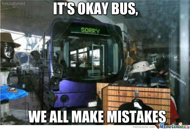 It's Ok Bus.....