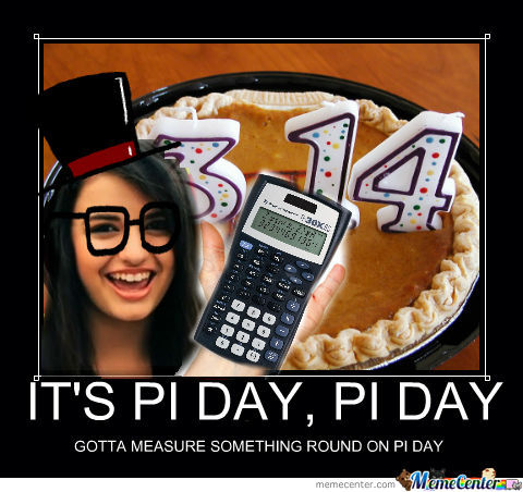 It's Pi Day!