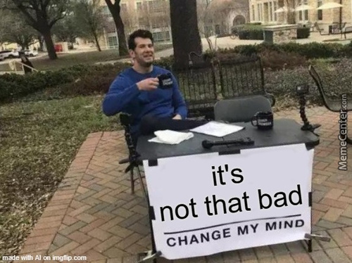 Its Really Not