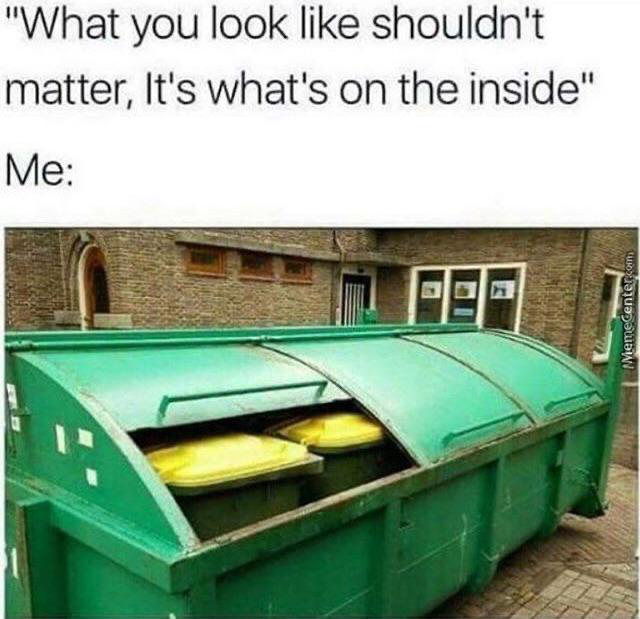 It's What's On The Inside That Matter