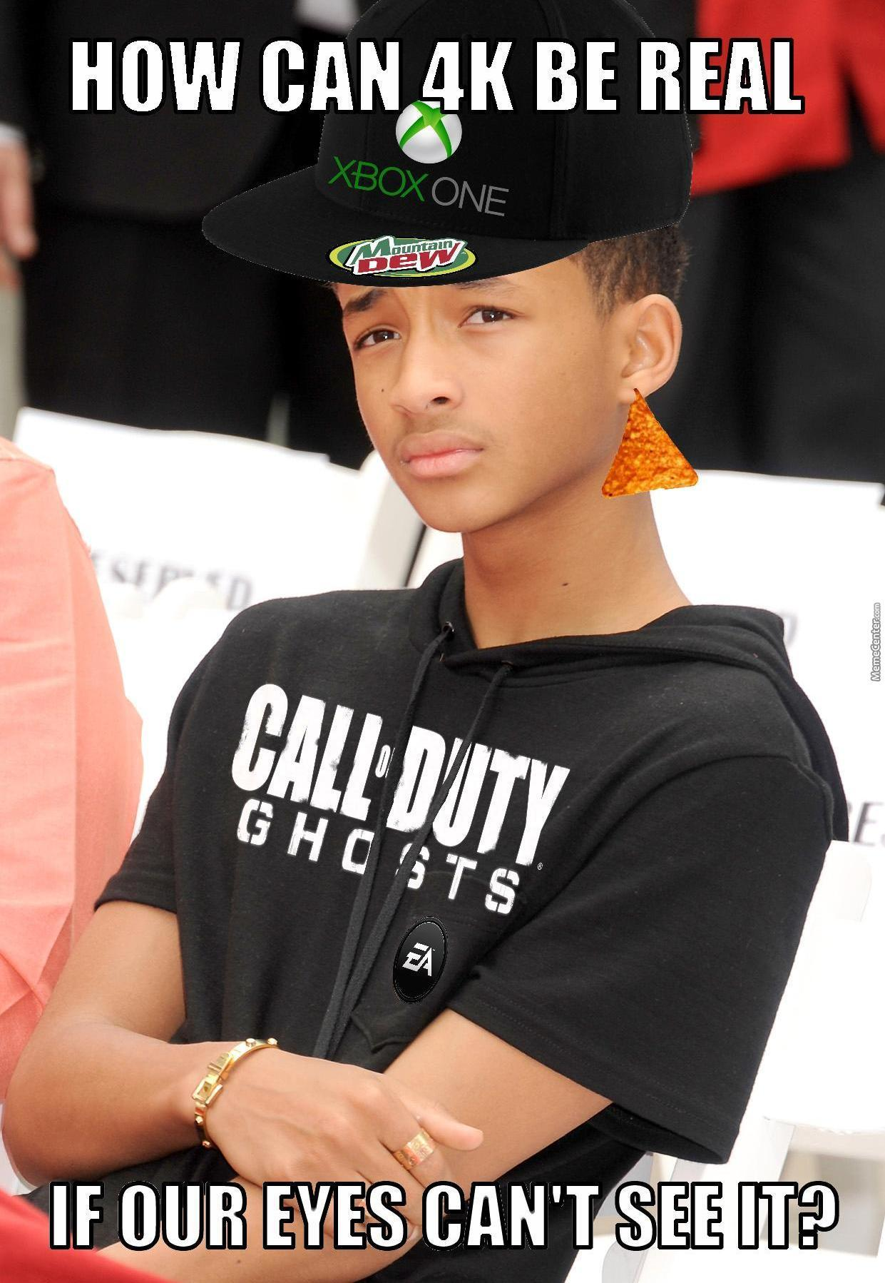 Jaden As A Console Peasant