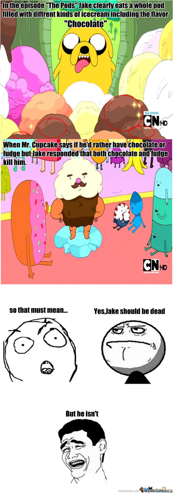 Jake The Dog Must Be....immortal!