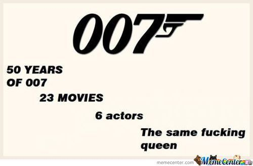 James Bond - Queen Of England