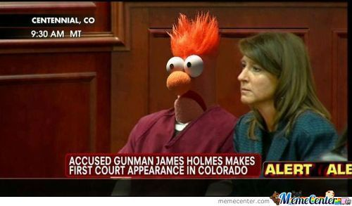 James Holmes Court Appearance?