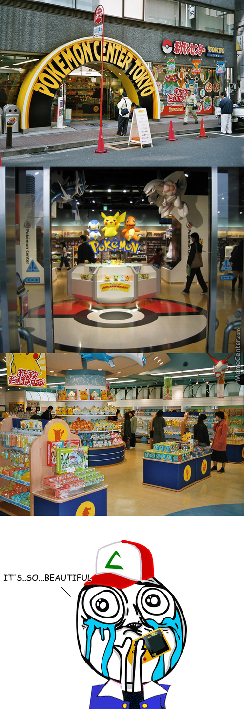 Japan's Pokémon Center - *envy Intensifies*
