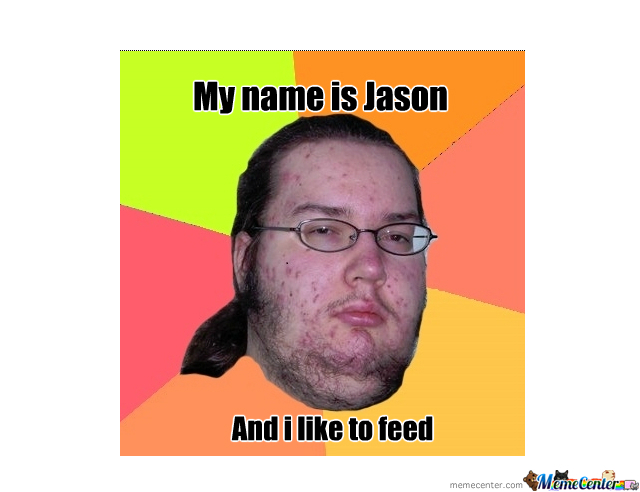 Jason Loves To Fedd