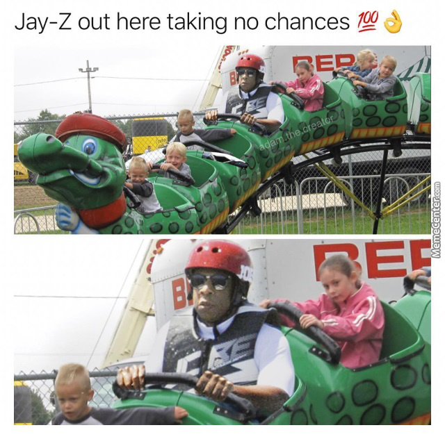 Jay-Z Doing Literally Anything Always Looks Hilarious