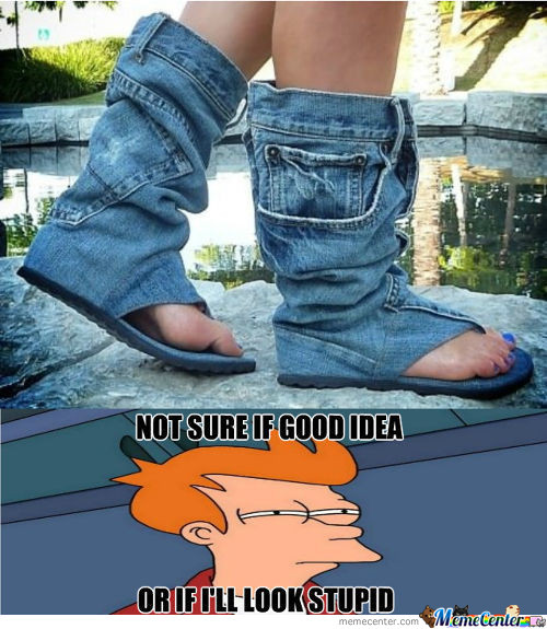 Jean Boots!