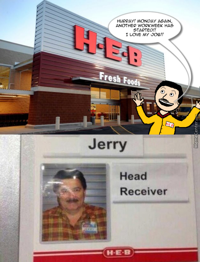 Jerry, A Man That Loves His Job