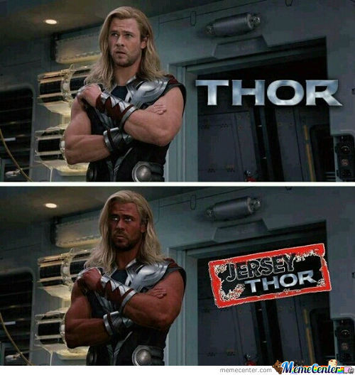 Jersey Thor