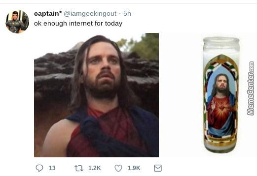 Jesus And Bucky Have 5 Letters