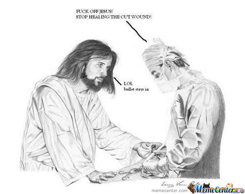 Jesus Loves Trolling